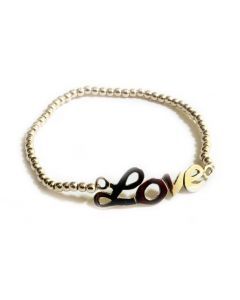 Everywhere Silver Love Bracelet