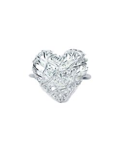 Tangled Heart Ring